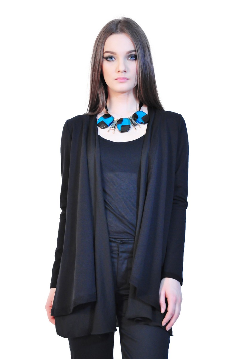 WOMEN    Tops    Cardigans    RVL black women cardigan 10eeeb5aca74
