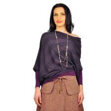 Bluze dama D1711C mov inchis