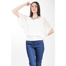 bluze dama albe elagante