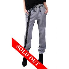 Pantaloni casual din felpa