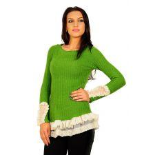 Bluza RVL verde mediu Pleasure