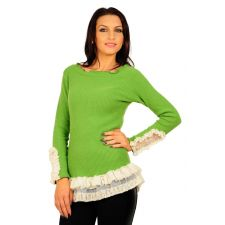 Bluza RVL verde deschis Pleasure