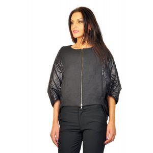 Jachete dama online RVL negru D2221