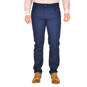 pantaloni barbati B2209 bleumarin
