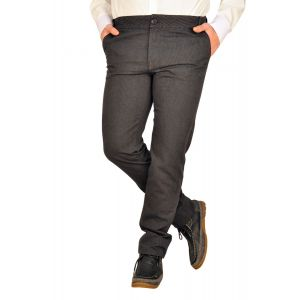 Pantaloni barbati B2213 gri dungi