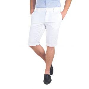 pantaloni barbati 3/4 albi