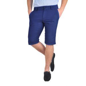 pantaloni barbati 3/4 bleumarin