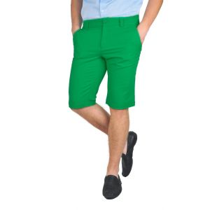pantaloni barbati 3/4 verde