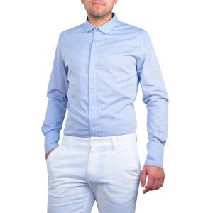 camasi barbati bleu