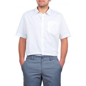 Camasi barbati cu maneca scurta alb