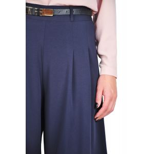 pantalon 3/4 bleumarin