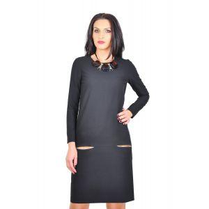 rochie office neagra
