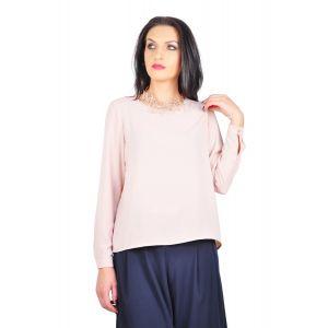 bluza eleganta roz