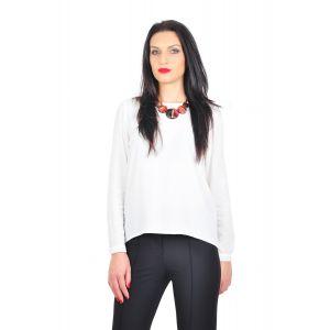 bluza eleganta alba D2425A