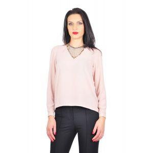 bluza eleganta roz D2425A
