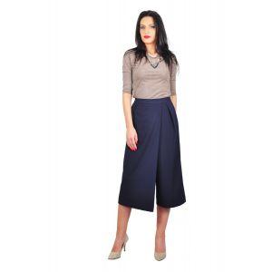 Fusta pantalon bleumarin D2426