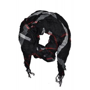 esarfa creponata neagra