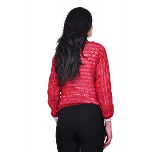 bluza grena de dama D1645A