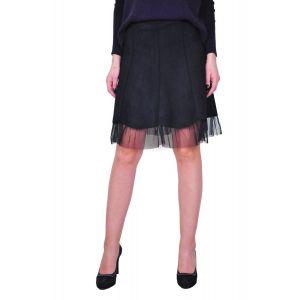 fusta neagra de dama D2416