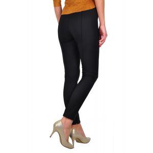 pantalon negru D2428