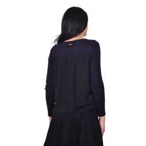 bluza mov de dama D2430