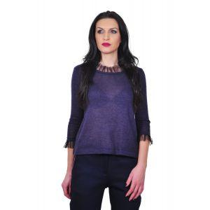 bluza mov de dama D2430A