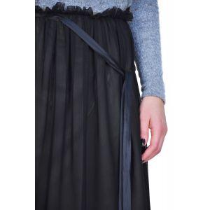fusta neagra eleganta D2431