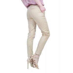pantalon bej de dama D2505