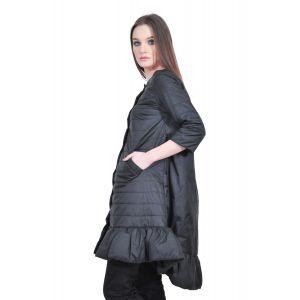 jacheta lunga neagra de dama RVL, D2507