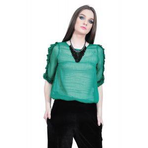 bluza verde de dama D2514 RVL