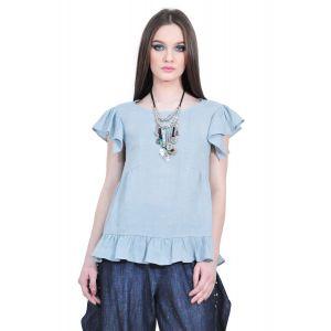 bluza dama din in, D2520 RVL