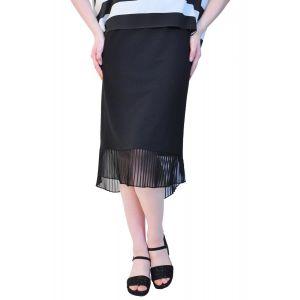 fusta eleganta neagra de dama RVL D2526