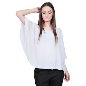 bluza alba de dama D2128C RVL