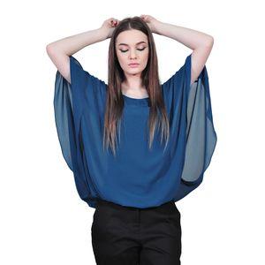 bluza albastra de dama D2128C