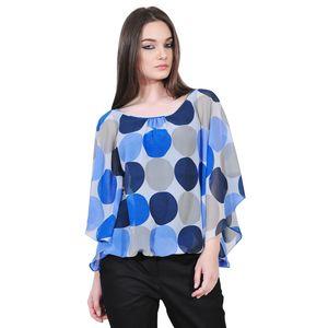 bluza albastra buline de dama D2128C
