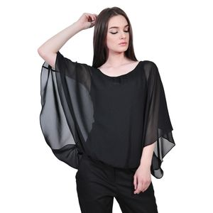 bluza neagra de dama D2128C