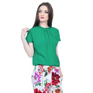 bluza verde eleganta de dama D2323A