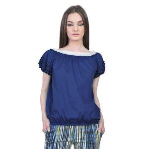 bluza albastra de dama D2351A