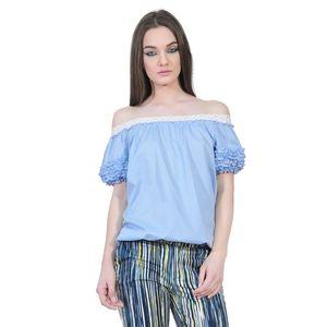 bluza bleu de dama D2351A