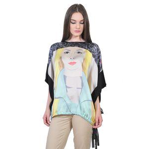 bluza larga de dama D2549A