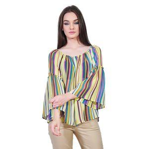 Bluza larga multicolora de dama tip ie