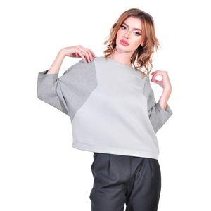 bluza de dama, gri D2605