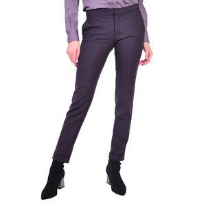 pantalon de dama mov inchis D2611