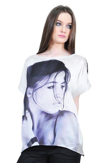 bluza dama cu portret D2528