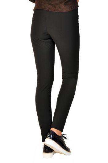 Pantaloni dama negru D2204