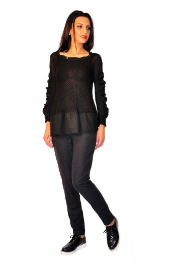 Bluza neagra Fashion Doll