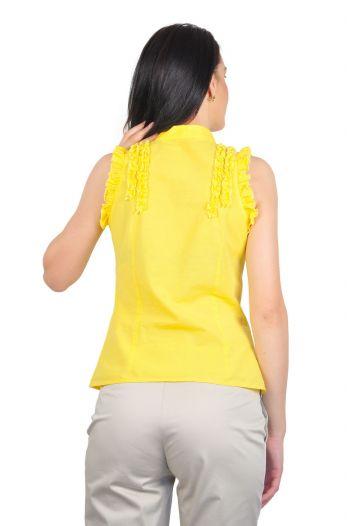 camasi dama fara maneci galben