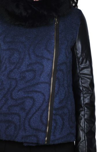 jacheta bleumarin de dama D2436