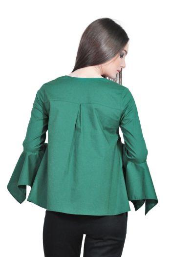 camasa dama verde D2501