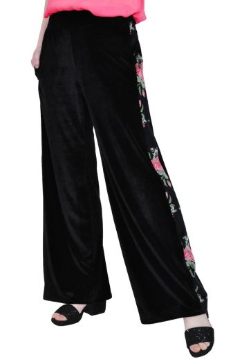 pantalon larg de catifea RVL D2516